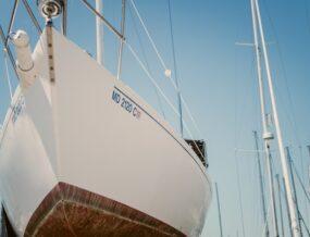 détail coque bateau