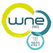 logo world nuclear exhibition 2021