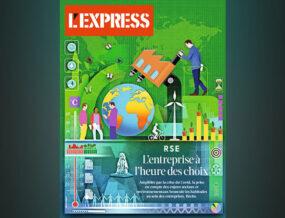 Couverture de l'express, cahier spécial RSE