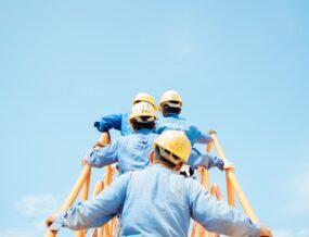 entrepreneurs casque chantiers